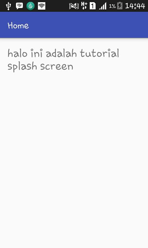 membuat splash screen