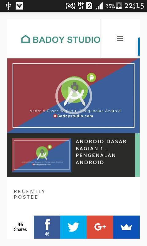 WebView Dengan Progress Bar pada Android Studio