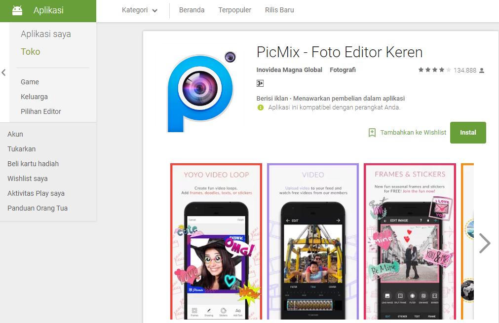 Orang dibalik suksesnya aplikasi Picmix