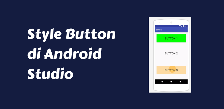 style button android studio
