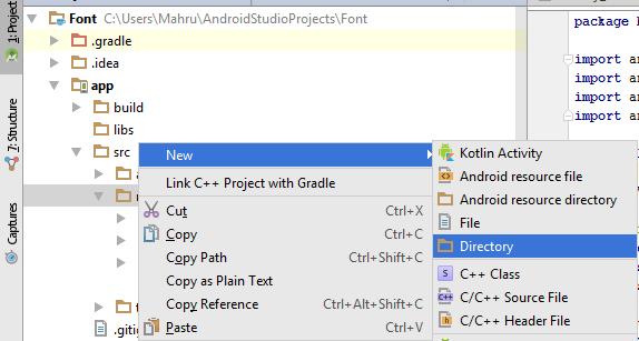 Custom Font pada Android Studio Dengan Mudah - Badoy Studio
