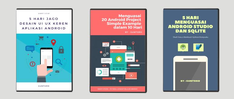 Menguasai Android Studio dan SQLite