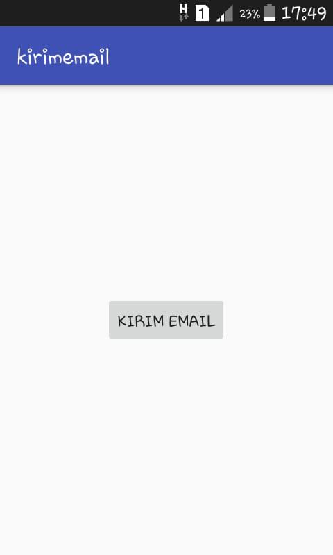 membuat aplikasi untuk mengirim email