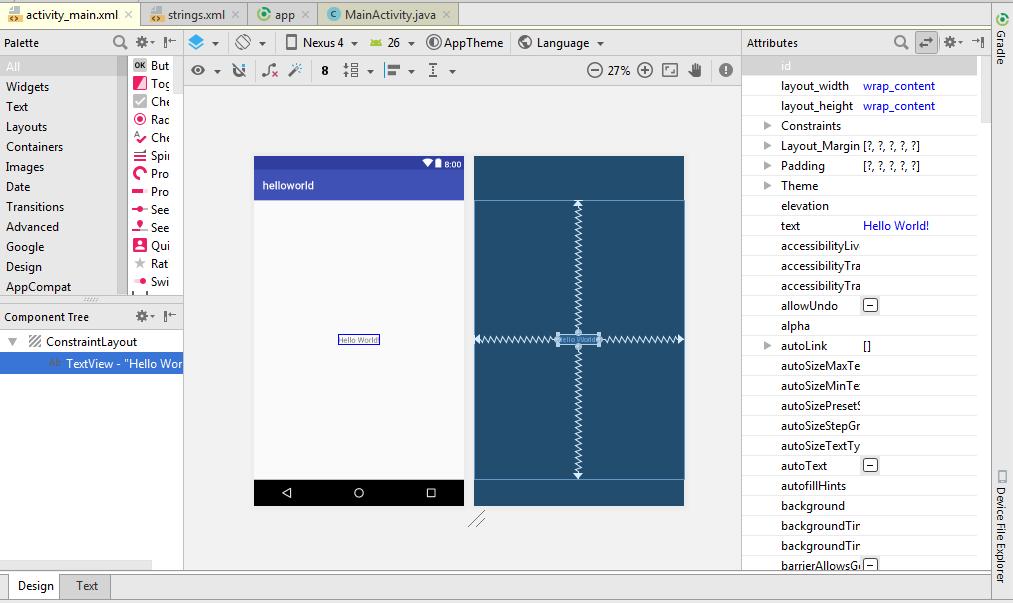 membuat aplikasi dengan androids tudio