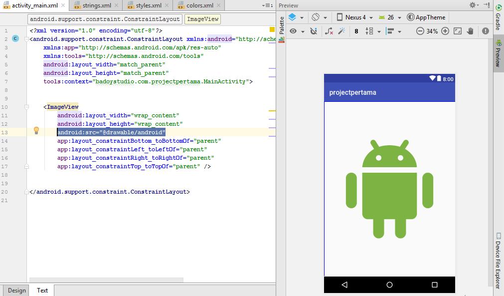 cara menggunakan android studio