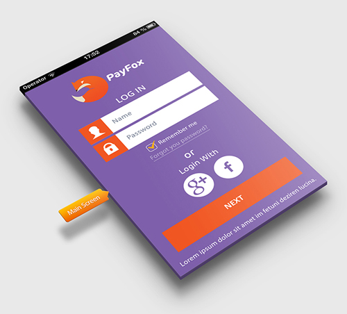 contoh desain aplikasi android