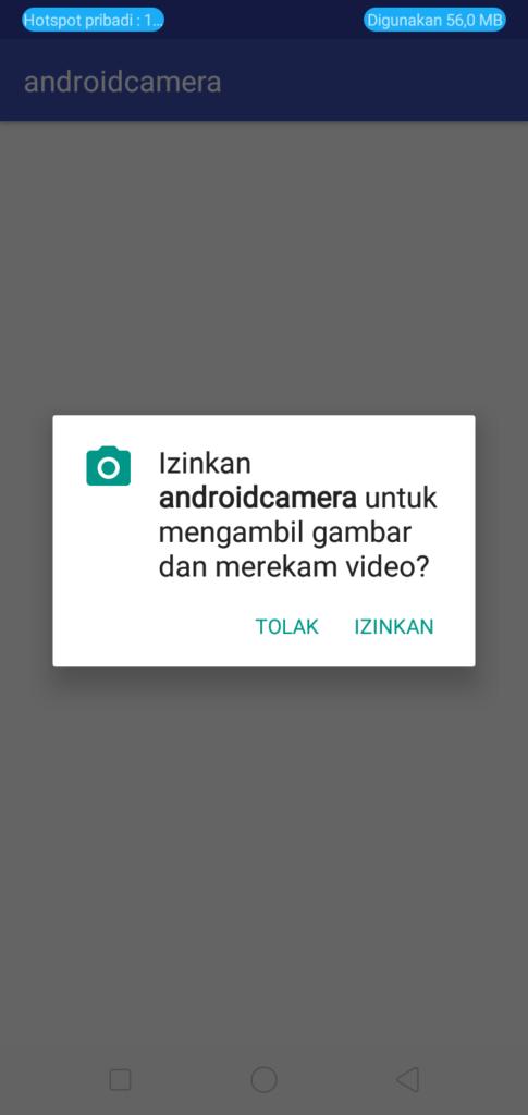 Cara Menggunakan Fitur Kamera pada Android Studio