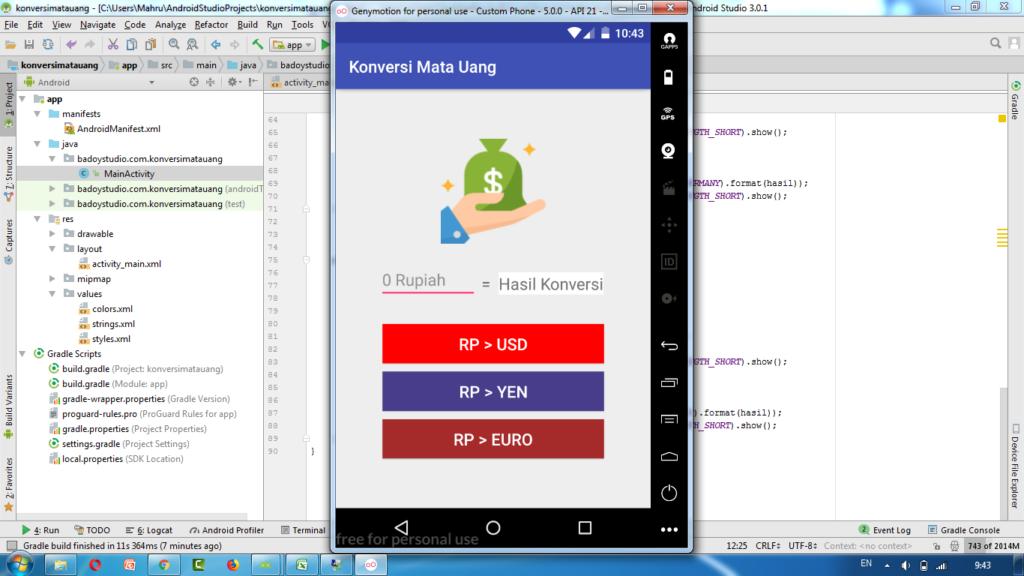 Cra membuat aplikasi android untuk pemula