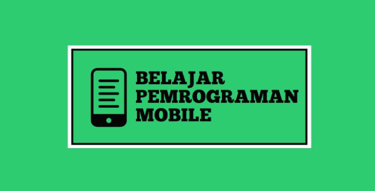 pemrograman mobile