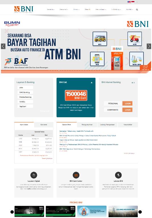contoh website perusahaan