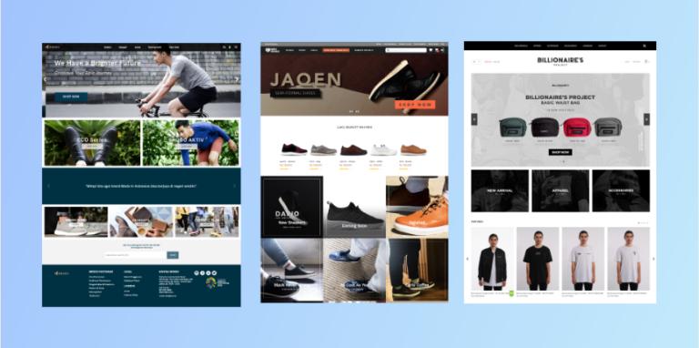 14 Contoh Website Toko Online Dengan Desain Modern