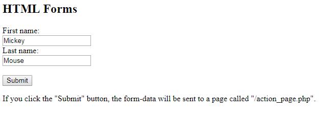 fungsi HTML