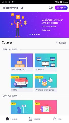 aplikasi belajar coding
