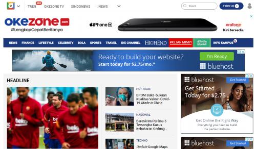 14 Contoh Website Berita Yang Populer Di Indonesia